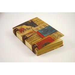 Grimoire ou carnet de voyage 120 pages