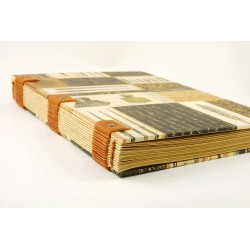 Carnet de voyage format A5, 144 pages