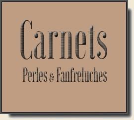 Carnets Perles et Fanfreluches